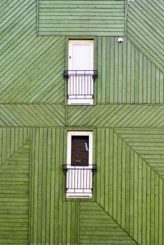 or darker green wood floor