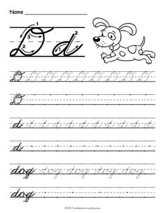 27 best cursive writing worksheets images lowercase. Black Bedroom Furniture Sets. Home Design Ideas
