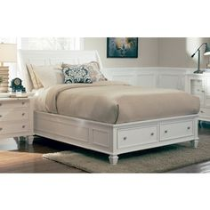 Shop for Coaster Company White Panel Bed. Get free shipping at Overstock.com - Your Online Furniture Outlet Store! Get 5% in rewards with Club O!