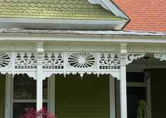 Atlanta, GA Grant Park North Historic District Victorian Cottage fretwork detail by army.arch, via Flickr