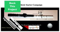 Darrick Ervin is raising funds for The Ultimate Golf Swing Trainer, Practice Anywhere & Anytime on Kickstarter!GOLF is a game of preparation .You will play how you prepare Please help us reach our GOAL . Sports Training, Golf Clubs, Raising, Trainers, Play, Game, Factors, Golf Courses