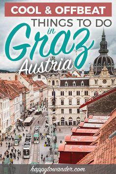 Exploring the Bizarre, Offbeat & Unusual in Graz: 12 Alternative Things to Do Europe Destinations, Europe Travel Guide, Travel Guides, Travel Diys, Travel Luggage, Travel Backpack, Medan, Wachau Valley, Viajes