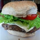 Best of Everything Veggie Burgers:  6 servings; 317 calories, 5 g fat per serving