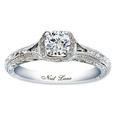 This is actually my beautiful Neil lane engagement ring!