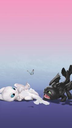 Dragon Wallpaper Iphone, Toothless Wallpaper, Disney Phone Wallpaper, Httyd Dragons, Cute Dragons, Cute Disney Drawings, Cute Animal Drawings, Cute Toothless, Night Fury Dragon