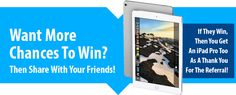 New iPad Pro Giveaway from @iphonelife @stacksocial. Enter today so we can BOTH WIN:    http://iphn.io/13w3