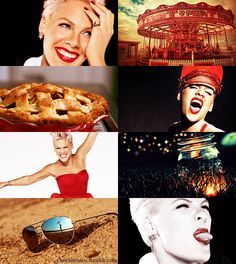 If the Months had Faces - July by ~checkers007 on deviantART - P!nk, Alecia Beth Moore