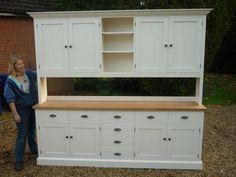 Bespoke Painted Halstead Kitchen Dresser