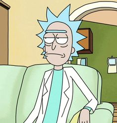 Rick Sanchez from rick and morty if he was a real person he would be my hero. Watch Rick And Morty, Rick Und Morty, Rick And Morty Poster, Cartoon Icons, Cartoon Characters, Fictional Characters, Ricky Y Morty, Rick And Morty Stickers, Dark Art