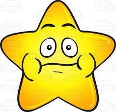 Single Gold Star Cartoon With Puffy Cheeks Emoji #big #bloated #bloatedcheeks #bright #brightly #cartoon #cheeks #chew #chewing #cutestar #emoji #emoticon #fatstar #full #gloss #glossy #gold #golden #gradient #heavenlybody #puffed #puffy #puffycheeks #shine #shining #shiningbrightly #shiny #smiley #smilies #star #starcartoon #stellar #swollen #yellow #yellowgradient #vector #clipart #stock