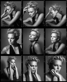 Fashiontography: Charlize Theron by Vincent Peters