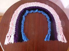 Genderfluid Pride Flag Crochet Scarf by DigenisFashionShop on Etsy
