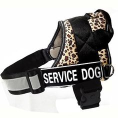 REFLECTIVE-Service-Dog-Vest-w-Handle-Harness-2-patches-IN-TRAINING-THERAPY-DOG