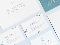 Dribbble - Rachael Schirano | Final Stationery by Breanna Rose