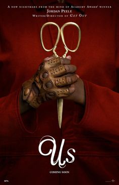 First trailer and poster arrive for Jordan Peele's 'Us,' a new thriller opening in 2019 and starring Lupita Nyong'o, Winston Duke, and Elisabeth Moss. Elisabeth Moss, Horror Movie Posters, Horror Movies, Netflix Horror, Horror Music, Horror Art, Marvel Movies, Movies 2019, New Movies