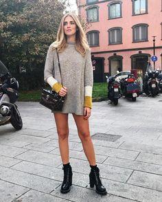 ChiaraFerragni_Style: #ChiaraFerragni #ItalianDays From ChiaraFerragni_Style closet LOUIS VUITTON LOUIS VUITTON Star Trail Ankle Boot