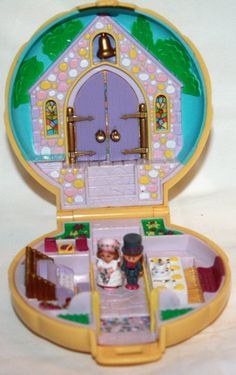 Polly Pocket's wedding- totally had this one as a kid!