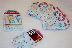 Hand made Gift Card Holder Gift Tag $1