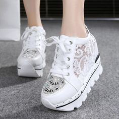 Womens-Shoes-Platform-Wedges-Fashion-Sneakers-Summer-Sport-Sandals-High-Heels