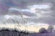 風景画ギャラリー「すすき」~水彩画インフォメーション