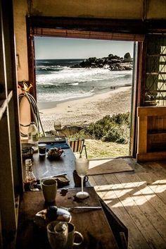 Surf shack.