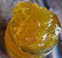 No pith marmalade. Through My Kitchen Window: Orange Marmalade The Old Fashioned Way. Jelly Recipes, Jam Recipes, Canning Recipes, Fruit Recipes, Sweet Recipes, Orange Ginger Marmalade Recipe, Lemon Marmalade, Sugar Free Jam, Low Sugar