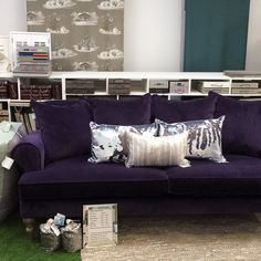 #showroom #gettingthere just a quick snap of the new look #cushions #stripeinteriors
