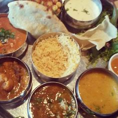 a gorgeous thali #tamatanga on Tagboard Tasty, Fan, Ethnic Recipes, Desserts, Photos, Tailgate Desserts, Deserts, Pictures, Postres