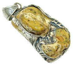 Huge! Baltic Amber Pendant