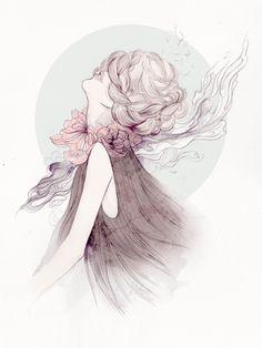 Fashion illustration by Soleil Ignacio