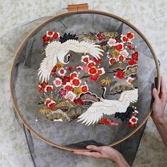 Ethereal Embroidery Designs Stitched into Tulle Look Like They're Floating in Mid-Air