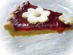 mieleevaniglia: Crostata con Marmellata e Crema al Limone con Frolla di Montersino