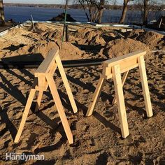 how to build a sawhorse in 15 minutes