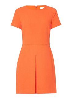 Warehouse A-lijn jurk met plooidetail • de Bijenkorf