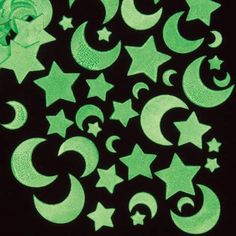 Buy Glow in the Dark Moon & Star Stickers at Baker Ross. Add a glow to your crafts with these glow-in-the-dark foam stickers! An assortment of moon and star shapes in Solar System Crafts, Foam Shapes, Stars Craft, Halloween Crafts For Kids, Children Crafts, Scrapbooking, Dark Moon, Dark Star, Star Stickers