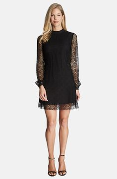 CeCe by Cynthia Steffe Flared Lace Dress available at #Nordstrom