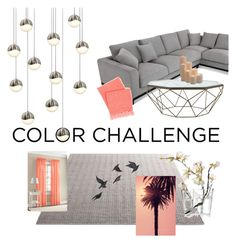 """""""#colorchallenge"""" by reetamartins ❤ liked on Polyvore featuring interior, interiors, interior design, home, home decor, interior decorating, Sonneman, Jayson Home, Pine Cone Hill and iittala"""
