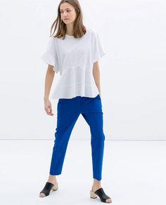 Zara ankle trousers