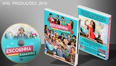 Escolinha Do Professor Raimundo - Nova Geração - DVD 1 - ➨ Vitrine - Galeria De Capas - MundoNet | Capas & Labels Customizados