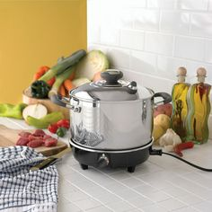 SLOW COOKER 9PLY W-POT  CookWorld Cookware