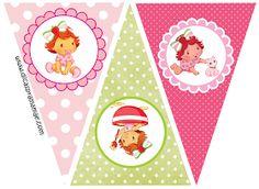 Dicas pra Mamãe: Mini Kit Moranguinho Baby para imprimir