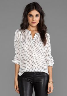 MARC BY MARC JACOBS Minette Print Blouse: love Polka dots!
