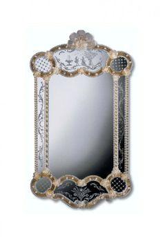 Murano Glass Mirror #300s