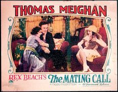 the mating call 1928