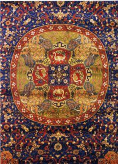 Petit Cabinet de Curiosites — qanafir: 19th c. Persian carpet (by ali eminov)