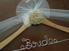 Barn Wedding Hanger, Rustic Wedding, Bride, Bridal Hanger, Wedding Hanger, Wedding shower gift, Bridal shower gift