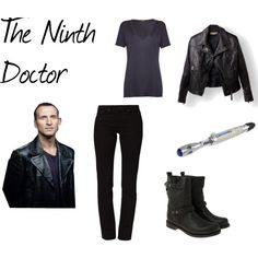 """The Ninth Doctor"" by ginger2012-1 on Polyvore"