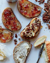 This indulgent sandwich from chef Vivian Howard is a fun combination of Époisses, the pungent French cow-milk cheese, and sweet and spicy pepper jelly.  Slideshow: More Grilled Cheese Recipes