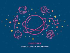 Best Icons of the Month! by Justas Galaburda #Design Popular #Dribbble #shots