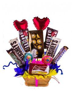 Resultado de imagen para arreglos de chocolates para hombres